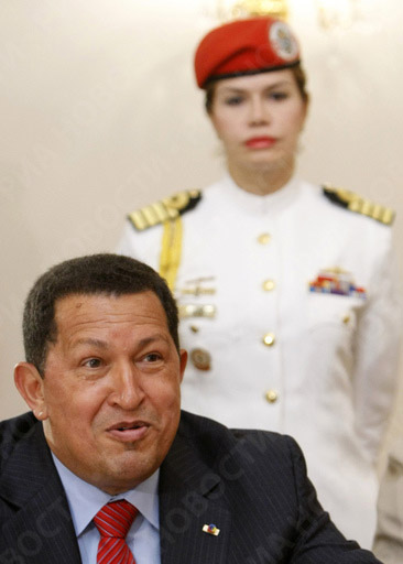 Hugo Chavez in Moscow
