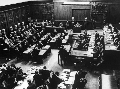 A series of Nuremberg trials opened on November 25, 1945. The trials of the former leadership of defeated Nazi Germany were held by the victorious Allied forces of World War II.<br />