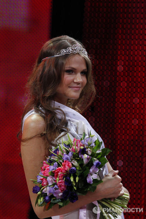 Anastasia Mashukova from Krasnoyarsk (East Siberia) took the second place in the pageant.