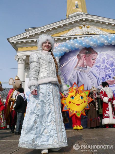 The Kostroma authorities unveiled the online Russian Fairy Tale Map on the birthday of Snegurochka, the Snow Maiden.