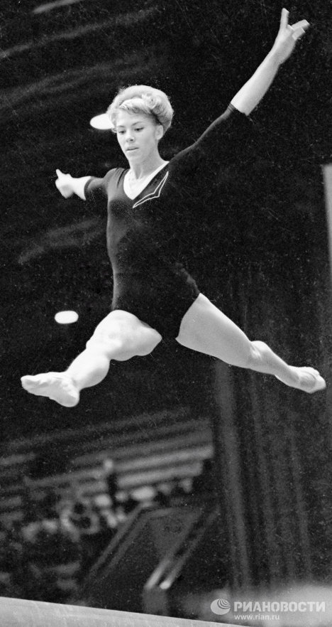 Gymnast Larisa Latynina is one of the country's most successful Olympic athletes. She won nine gold, five silver and four bronze medals in the Olympic Games – more than any other Olympic athlete in history.