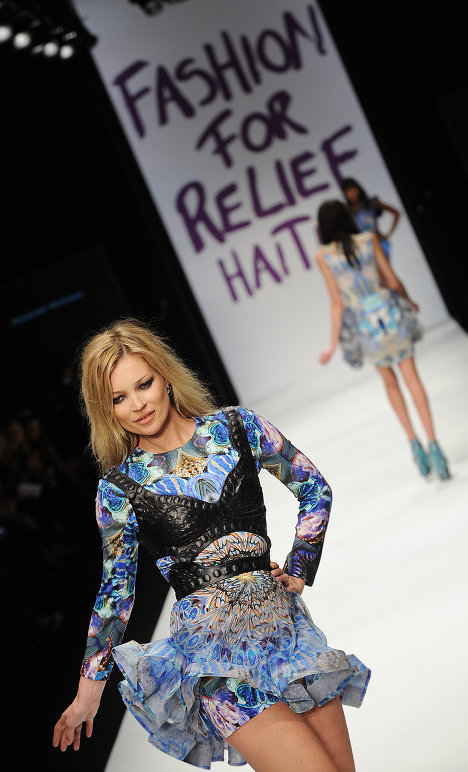 British Kate Moss earned $14 million; she is third in the list.<br /><br />