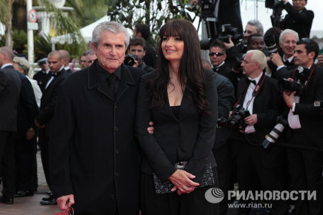 The 64th Cannes Film Festival, one of the most celebrated events in the movie world, has opened on the French Riviera. Photo: director Claude Lelouch with a companion at the opening ceremony of the 64th Cannes Film Festival.