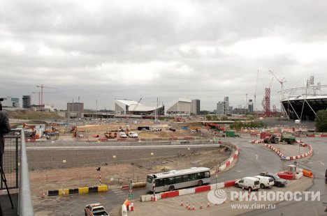 Wednesday, July 27: there are now just 366 days left (2012 is a leap year) before the Summer Olympics, which will be held in London from July 27 to August 12, 2012. Construction work on the Olympic Park and Village in London's East End is in its final stages.