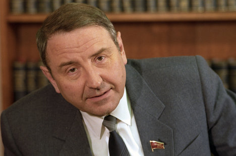 Oleg Baklanov (b. 1932)<br />Baklanov worked in an instrument engineering factory in Kharkov, Ukraine, and later became chief of the factory. He was appointed as engineering industry minister of USSR in 1983 and Supreme Soviet deputy (1981-91). Included in the post-coup amnesty in 1994. Baklanov is the chairman of the board of governors at the Rosobshemash company.<br />