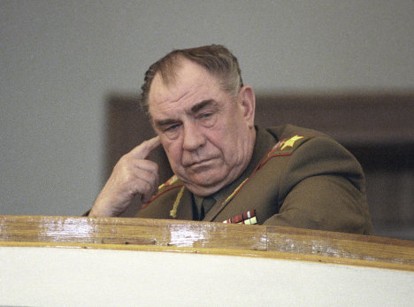 Dmitry Yazov (b 1923)<br />Yazov participated in World War II as a volunteer, and later led a motorized rifle regiment. Yasov was sent to Cuba and was on standby during the Cuban missile crisis in 1961. He was appointed Defense Minister of the USSR in 1987 and Marshal of the Soviet Union in 1990. Included in the amnesty in 1994. Yasov became a leading analyst after the general inspectors service was recreated in 2011.<br />