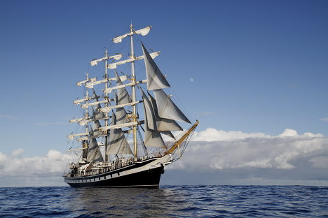 The Russian sailing ship Pallada is completing an international transpacific expedition. More than 100 sea cadets from the Primorye and Kamchatka Territories sailing onboard the Pallada have called at seven Canadian and U.S. ports, including Seattle, San Francisco, Los Angeles, and Honolulu.