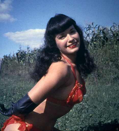 Famous American photo model Bettie Page, who became a U.S. sex symbol in the 1950s, and who reportedly was the forerunner of the Sexual Revolution of the 1960s, is rated seventh.