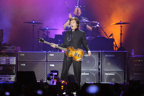 On November 14 a long-awaited concert of Sir Paul McCartney was held at Moscow's Olympiisky Stadium. <br /><br />