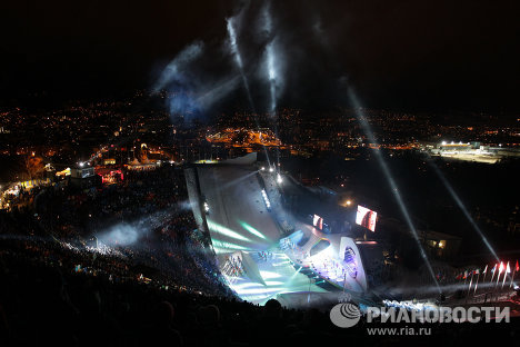 The first-ever Winter Youth Olympic Games opened on January 13 in Innsbruck, Austria.
