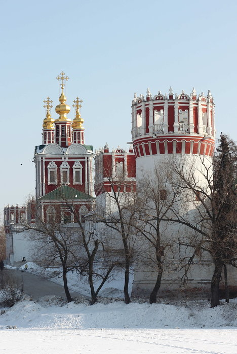 New Maiden's (Novodevichy) Convent in Moscow was founded in 1524 by Grand Duke Vasili III.<br /><br />
