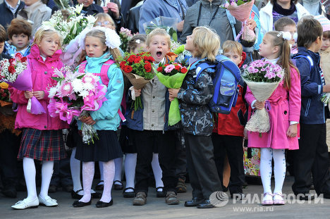 On September 1 Russia celebrated Knowledge Day, as children came back to school after three-month-long summer vacations.