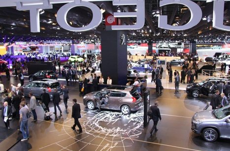 The Paris Motor Show opened its doors to journalists and industry experts.
