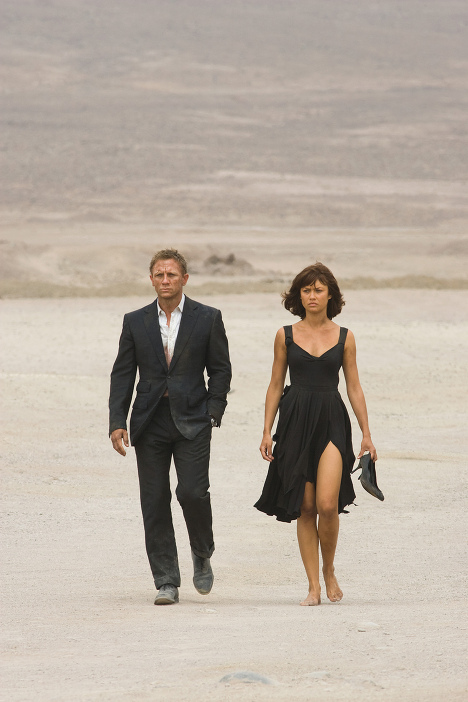 """Casino Royale,"" the 21st film in the James Bond series, starring Daniel Craig, was released in 2006. Craig also starred in the 2008 film ""Quantum of Solace."" Photo: Still from film."