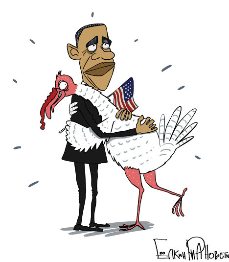 US President Barack Obama on Wednesday will pardon turkeys ahead of Thanksgiving Day in a ceremony that has become an annual presidential tradition.<br /><br />