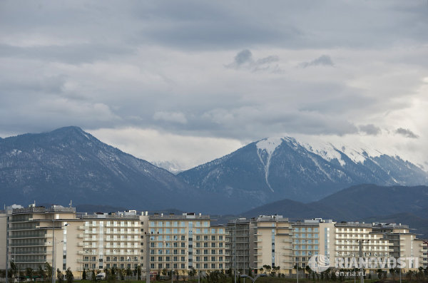 Europe's largest hotel chain has been launched in Sochi's Adler District. It includes the four-star AZIMUT Hotel Resort SPA Sochi with 720 rooms and the three-star AZIMUT Hotel Sochi with 2,880 rooms. Sochi's Olympic hotels are shown in RIA Novosti's image gallery.
