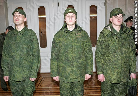 New russian military uniforms
